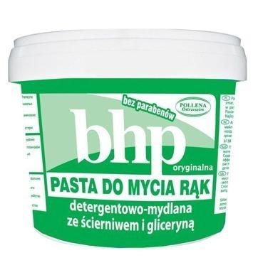 BHP Pasta do mycia rąk detergentowa-mydlana ze ścierniwem i gliceryną 500 g