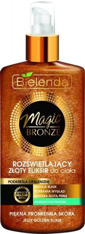 BIELENDA MAGIC BRONZE Rozświetlający złoty eliksir do ciała 150 ml