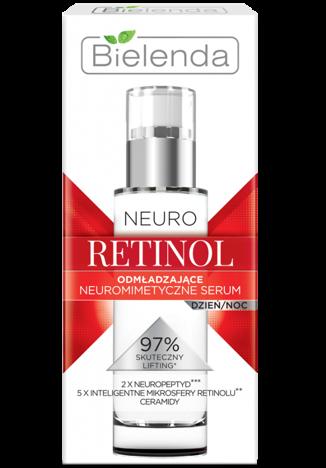 BIELENDA NEURO RETINOL Neuromimetyczne serum odmładzające na dzień i na noc 50 ml