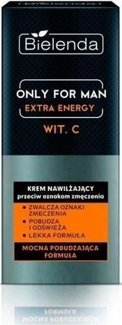 BIELENDA ONLY FOR MEN Nawilżający krem przeciw ozakom zmęczenia EXTRA ENERGY 50 ml