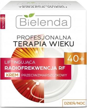 BIELENDA PROFESJONALNA TERAPIA WIEKU Liftingująca Radiofrekwencja RF Krem przeciwzmarszczkowy 40+ dzień/ noc 50 ml