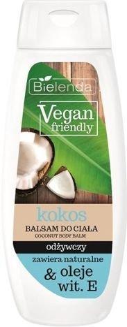 BIELENDA VEGAN FRIENDLY Balsam do ciała odżywczy kokos 400 ml