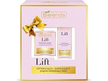 BIELENDA Zestaw 2018 Lift 40+ krem + serum