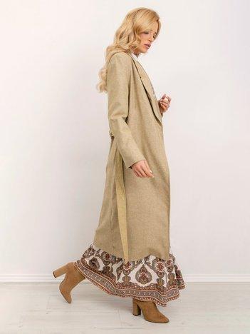 BSL Beżowy płaszcz