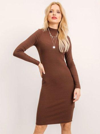 BSL Brązowa sukienka