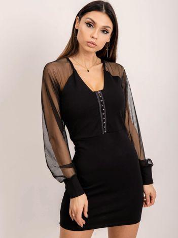 BSL Czarna sukienka mini