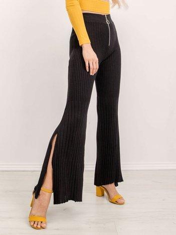 BSL Czarne spodnie damskie