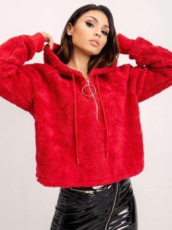 BSL Czerwona rozpinana bluza