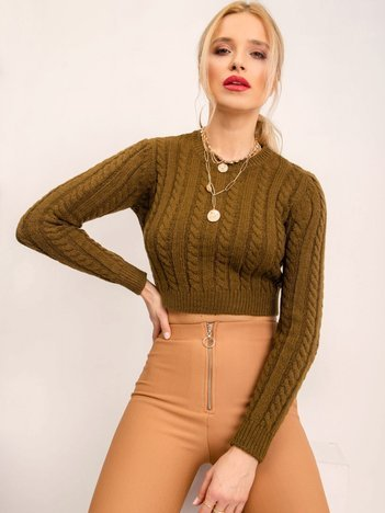 BSL Khaki sweter