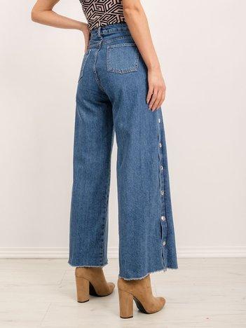 BSL Niebieskie jeansy damskie