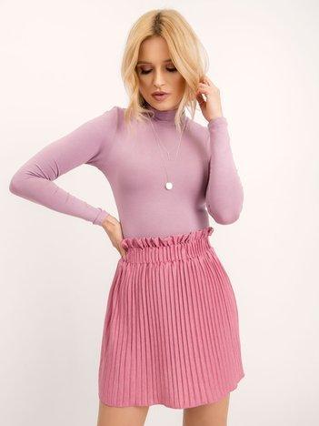 BSL Różowa plisowana spódnica