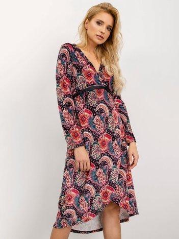BSL Sukienka w kolorowe wzory