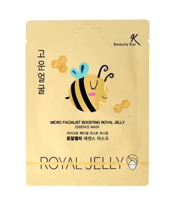 Beauty Kei Royal Jelly Koreańska maseczka na płacie odżywcza