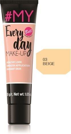 Bell #My Everyday Make-Up Podkład wyrównujący koloryt nr 03 Beige 30g