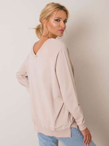 Beżowa bluza Leila RUE PARIS