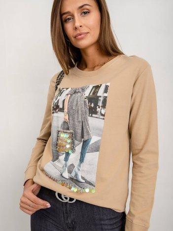 Beżowa bluza Mimi