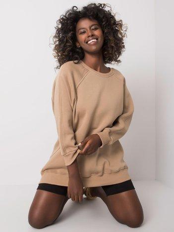 Beżowa bluza bawełniana Lana