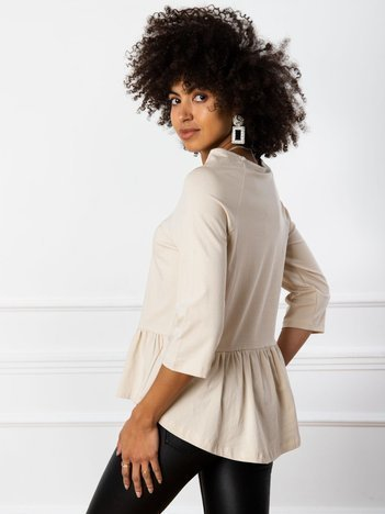 Beżowa bluzka Simone