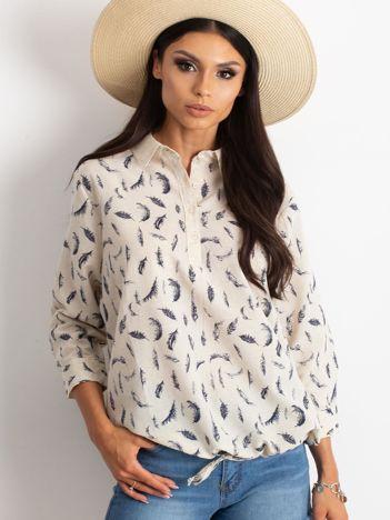 Beżowa bluzka Unfussy