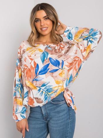 Beżowa bluzka oversize Chellise