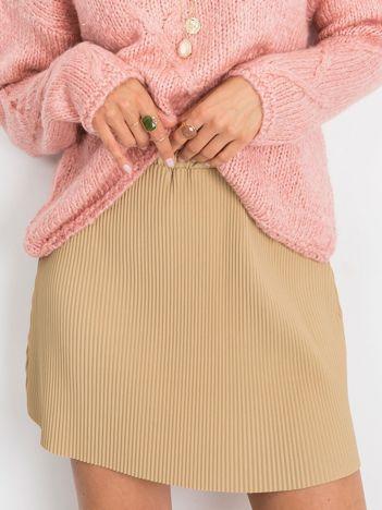 Beżowa spódnica Delta
