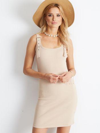 Beżowa sukienka Destiny