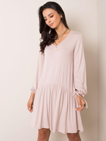 Beżowa sukienka Luciana RUE PARIS