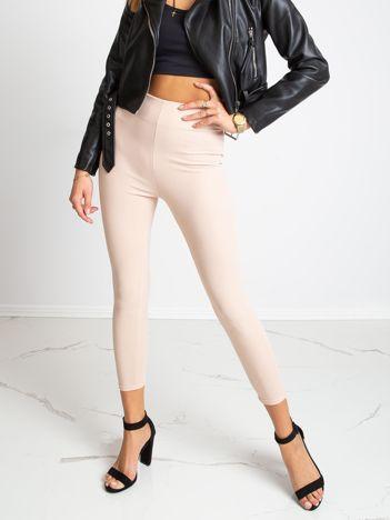 Beżowe spodnie Qestion