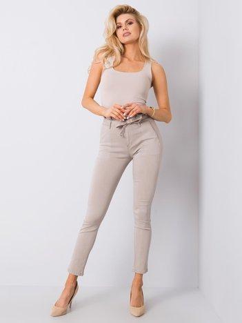 Beżowe spodnie Rosay