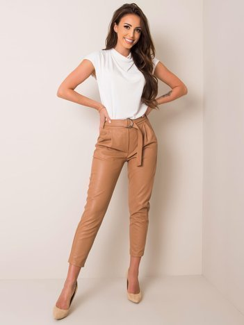 Beżowe spodnie Sophia