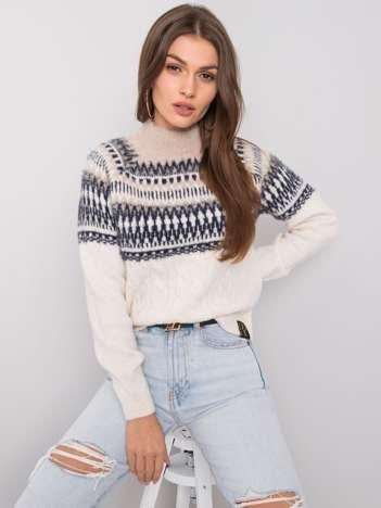 Beżowy sweter Callie RUE PARIS