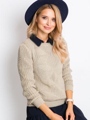 Beżowy sweter Joana