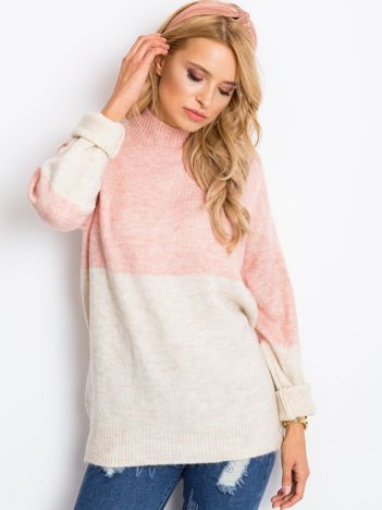 Beżowy sweter Taylor