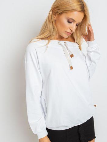 Biała bluza Ace