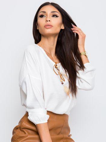 Biała bluzka Several