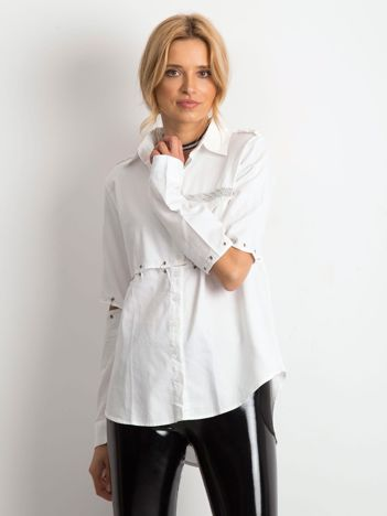 Biała koszula Suited