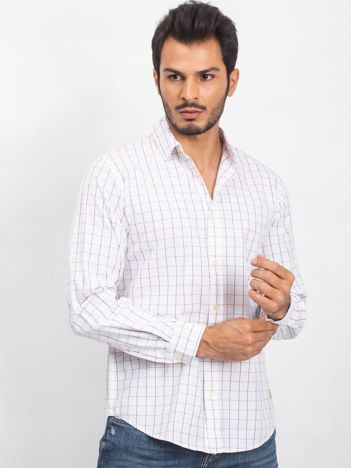 Biała koszula męska Forever