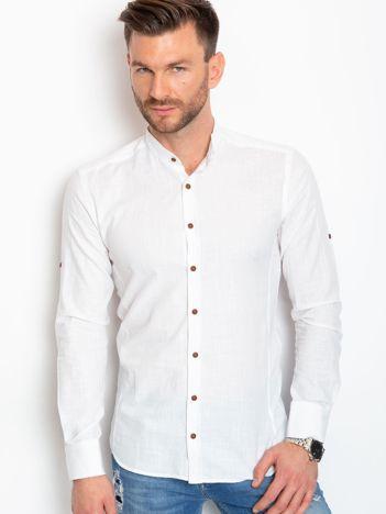Biała koszula męska Noah