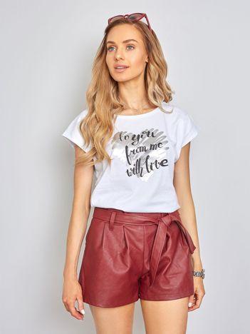 Biała koszulka Orienty