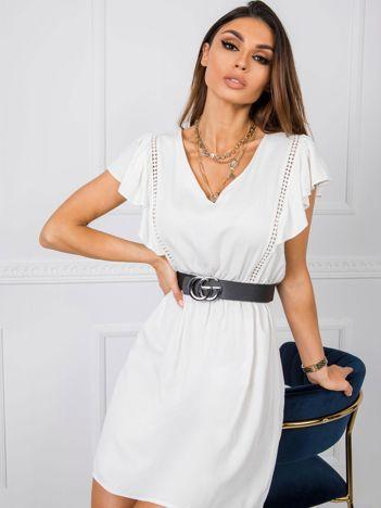 Biała sukienka Adel RUE PARIS
