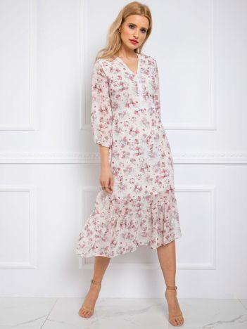Biała sukienka Donna RUE PARIS