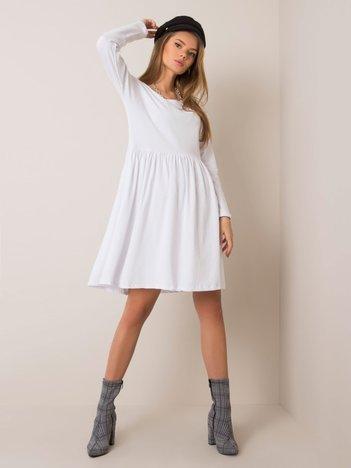 Biała sukienka Vega RUE PARIS