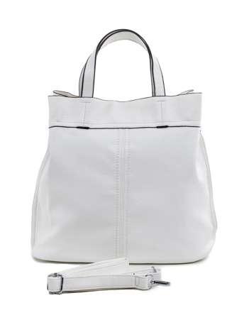 Biała torba na ramię