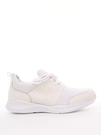 buty damskie adidas białe z lustrzana wstawką