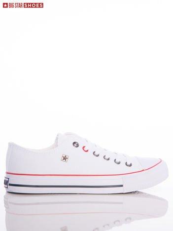 Białe trampki BIG STAR