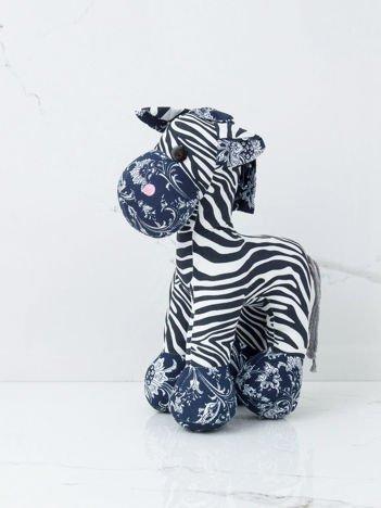 Biało-czarna maskotka Zebra