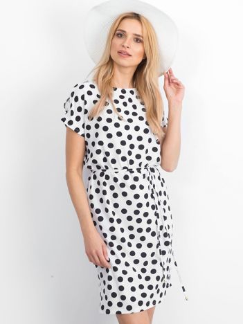 Biało-czarna sukienka Peyton