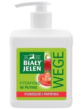 Biały Jeleń Wege Fitomydło w płynie Pomidor i Papryka  500 ml