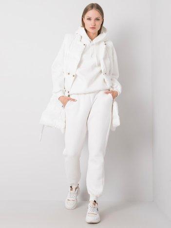 Biały komplet Vivianne