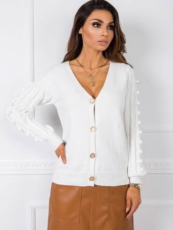 Biały sweter Elena